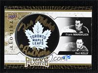 2018-19 Upper Deck Trilogy Update - Frank Mahovlich, Red Kelly #/5