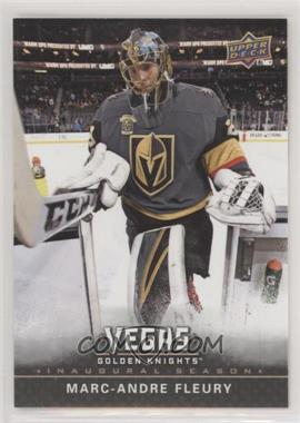 2017-18 Upper Deck Vegas Golden Knights - [Base] #1 - Marc-Andre Fleury