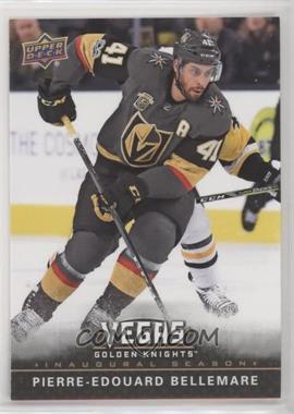 2017-18 Upper Deck Vegas Golden Knights - [Base] #12 - Pierre-Edouard Bellemare