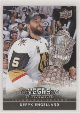 2017-18 Upper Deck Vegas Golden Knights - [Base] #2 - Deryk Engelland