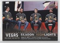 Season Highlights - Golden Knights Announce Expansion Selections