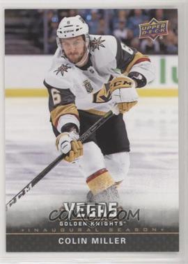 2017-18 Upper Deck Vegas Golden Knights - [Base] #6 - Colin Miller