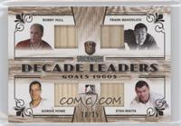 Bobby Hull, Frank Mahovlich, Gordie Howe, Stan Mikita #/25