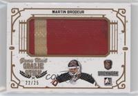 Martin Brodeur #/25