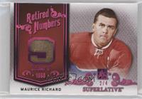 Maurice Richard #/4