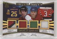 Dave Andreychuk, Phil Housley, Brian Bellows, Scott Stevens #/1
