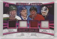 Mike Modano, Joe Sakic, Jeremy Roenick, Mike Richter #/25