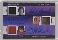 Phil Esposito, Bobby Hull, Marcel Dionne /3