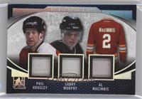 Phil Housley, Larry Murphy, Al MacInnis #/2