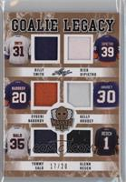 Billy Smith, Rick DiPietro, Evgeni Nabokov, Kelly Hrudey, Tommy Salo, Glenn Res…