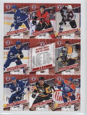 2017 Upper Deck National Hockey Card Day - Canadian Uncut Sheet #CAN 4 - Auston Matthews, Matthew Tkachuk, Joe Sakic, Mitch Marner, Bobby Orr, Steven Stamkos, Sidney Crosby, Connor McDavid