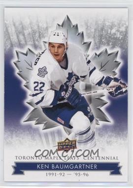 2017 Upper Deck Toronto Maple Leafs Centennial - [Base] #42 - Ken Baumgartner