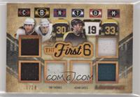 Ray Bourque, Cam Neely, Tim Thomas, Adam Oates, Zdeno Chara, Joe Thornton #/20