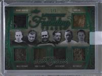 Howie Morenz, Nels Stewart, King Clancy, Jack Adams, Ace Bailey, Hap Day /1 [Un…