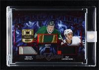 Wayne Gretzky, Brett Hull, Pat LaFontaine [Uncirculated] #/3