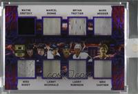 Wayne Gretzky , Mike Bossy , Marcel Dionne , Lanny McDonald , Bryan Trottier , …