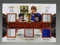 Wayne Gretzky , Jari Kurri , Michel Goulet , Mike Gartner , Mike Bossy , Rick V…