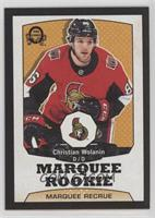 Marquee Rookies - Christian Wolanin /100