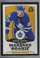Marquee Rookies - Andreas Johnsson /100