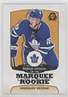 Marquee Rookies - Andreas Johnsson