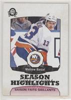 Season Highlights - Mathew Barzal