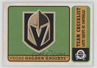 Team Checklist - Vegas Golden Knights