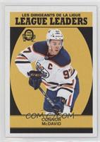 League Leaders - Connor McDavid