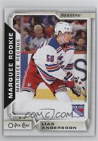 Marquee Rookies - Lias Andersson