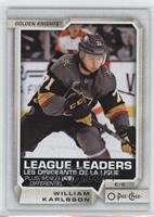 League Leaders - William Karlsson