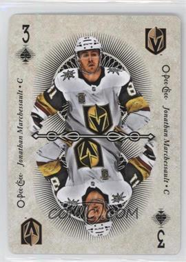 2018-19 O-Pee-Chee - Playing Cards #3S - Jonathan Marchessault