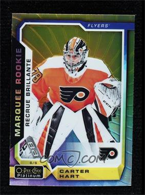 2018-19 O-Pee-Chee Platinum - [Base] - Rainbow Color Wheel #199 - Marquee Rookies - Carter Hart