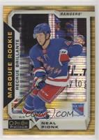 Marquee Rookies - Neal Pionk #/50