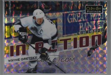 2018-19 O-Pee-Chee Platinum - In Action - Mosaic #IA-20 - Wayne Gretzky