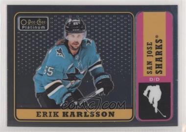 2018-19 O-Pee-Chee Platinum - Retro #R-20 - Erik Karlsson