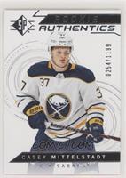 Rookie Authentics - Casey Mittelstadt #/1,199
