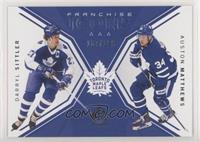 Franchise Icons - Darryl Sittler, Auston Matthews #/199
