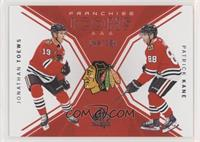 Franchise Icons - Jonathan Toews, Patrick Kane #/199