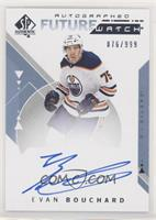 Future Watch Autographs - Evan Bouchard [Noted] #/999