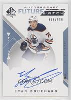 Future Watch Autographs - Evan Bouchard #/999