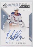 Future Watch Autographs - Brett Howden #/999