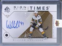 William Karlsson [Uncirculated]