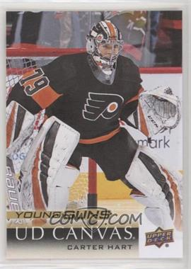 2018-19 Upper Deck - [Base] - Canvas #C218 - Young Guns - Carter Hart