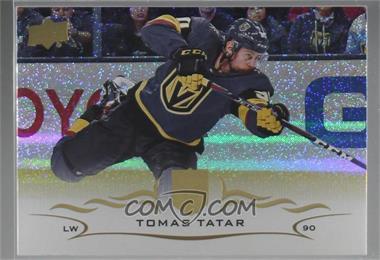 2018-19 Upper Deck - [Base] - Speckled Rainbow Foil #180 - Tomas Tatar