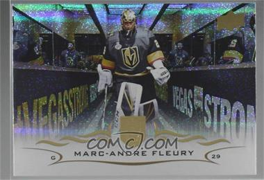 2018-19 Upper Deck - [Base] - Speckled Rainbow Foil #184 - Marc-Andre Fleury