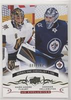 Marc-Andre Fleury, Connor Hellebuyck /100