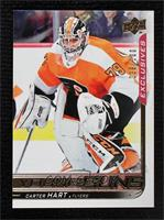 Young Guns - Carter Hart [Gem Mint] #/100