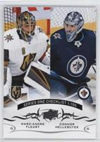 Marc-Andre Fleury, Connor Hellebuyck