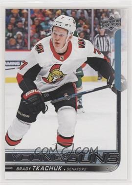 2018-19 Upper Deck - [Base] #499 - Young Guns - Brady Tkachuk