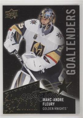 2018-19 Upper Deck - Shooting Stars Goaltenders - Black #SSG-8 - Marc-Andre Fleury