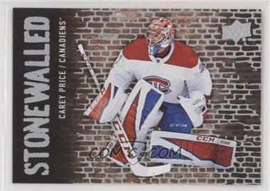2018-19 Upper Deck - Stonewalled #SW-27 - Carey Price